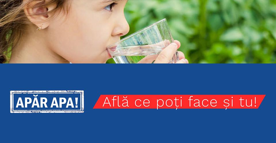 """""""APĂR APA!"""" – Campanie națională de informare pentru prevenirea poluării apelor cu nitrați din surse agricole"""